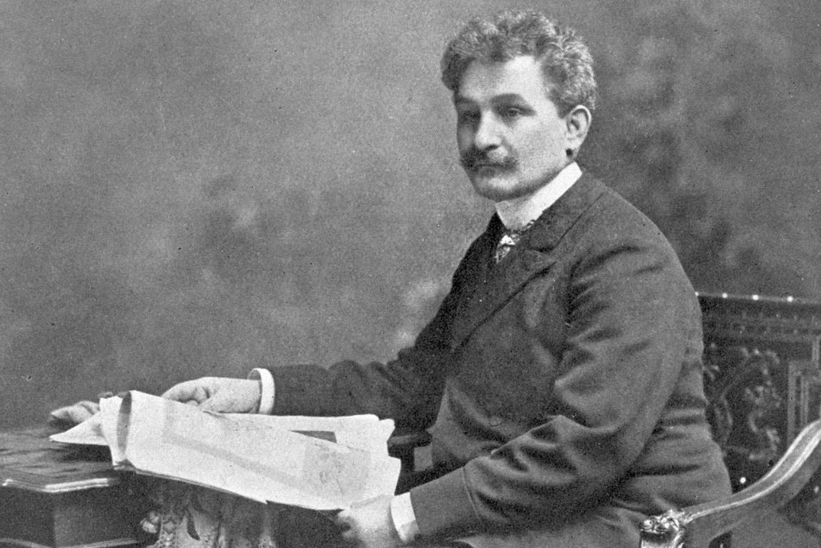 Leoš Janáček um 1890