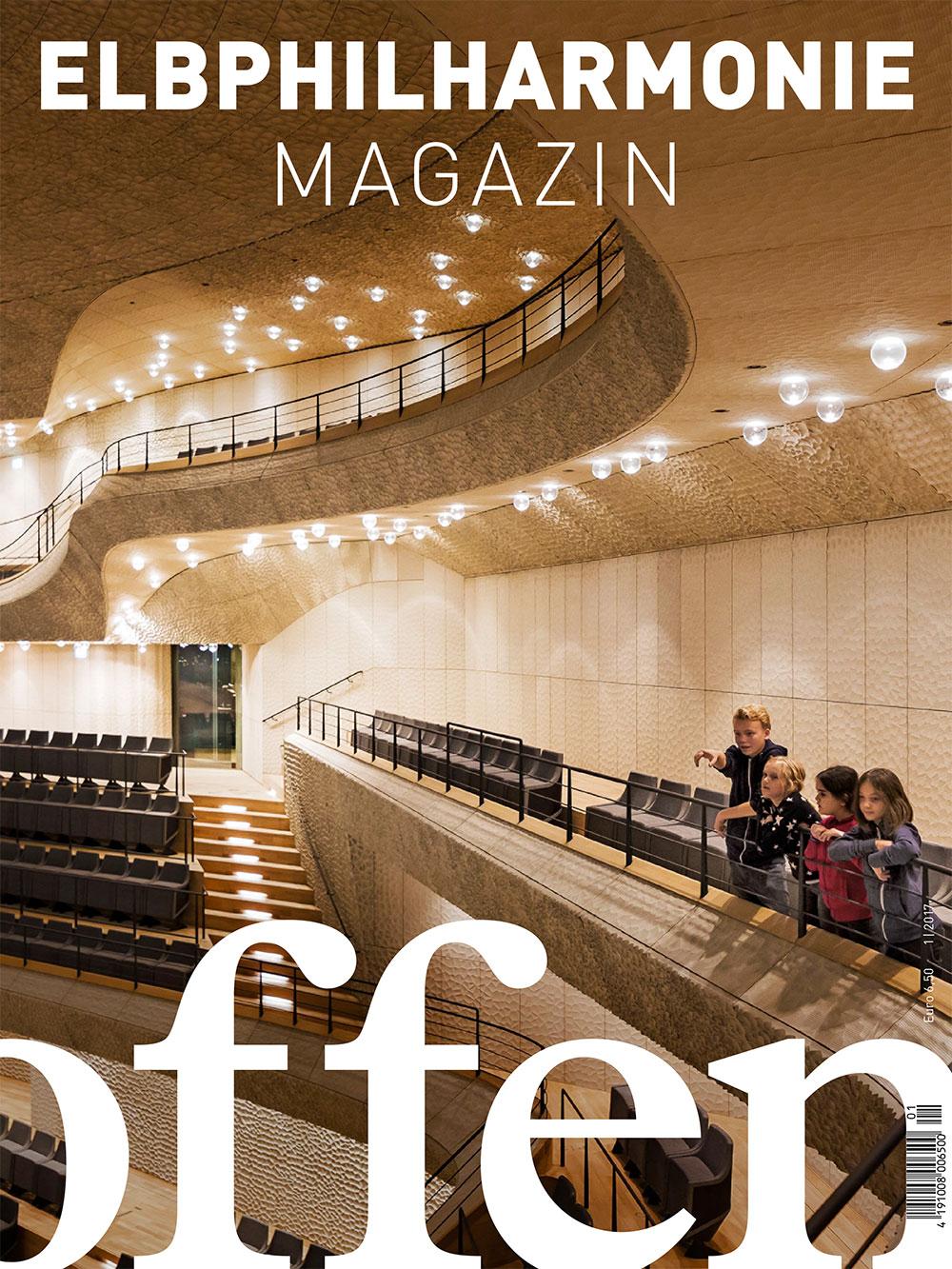 Cover Elbphilharmonie Magazin