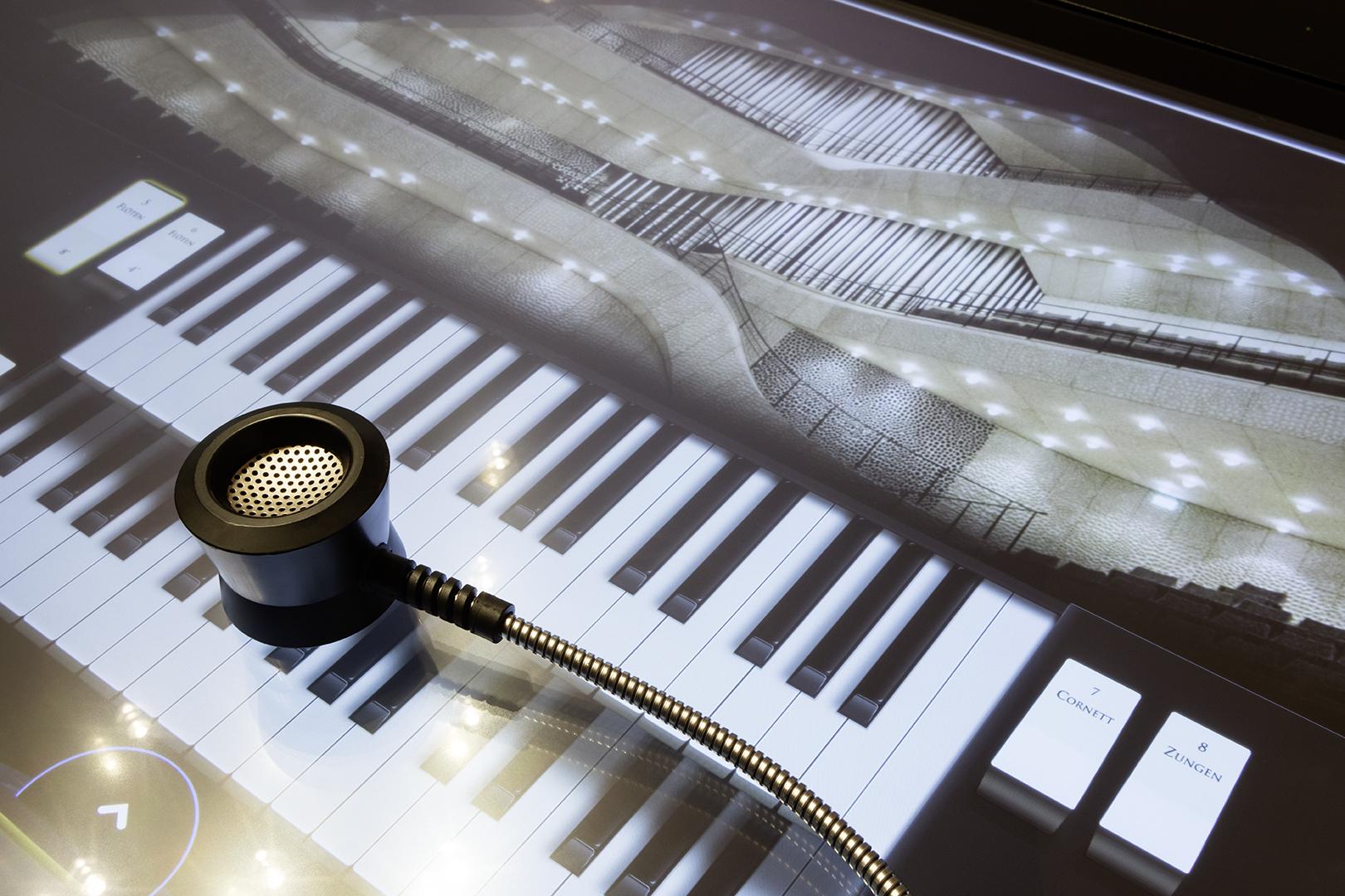Interaktive Orgel