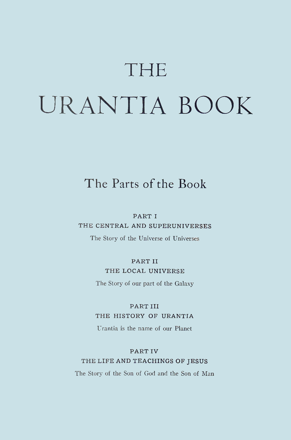 The Urantia-Book