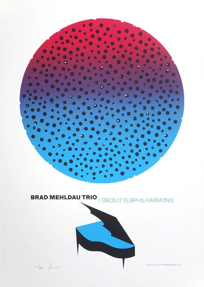 Gigposter Brad Mehldau