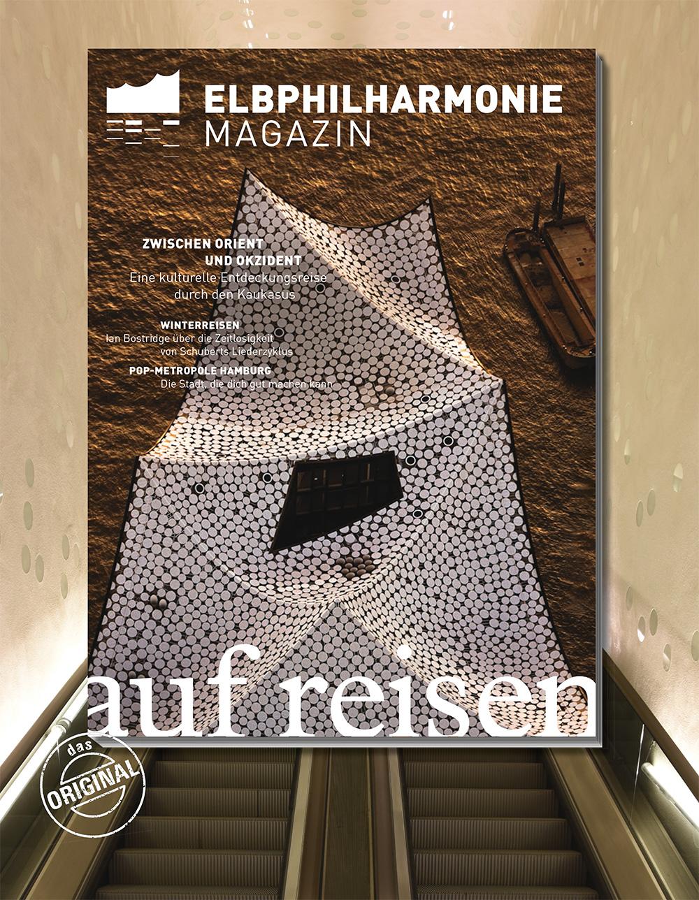 Elbphilharmonie Magazin »Auf Reisen«