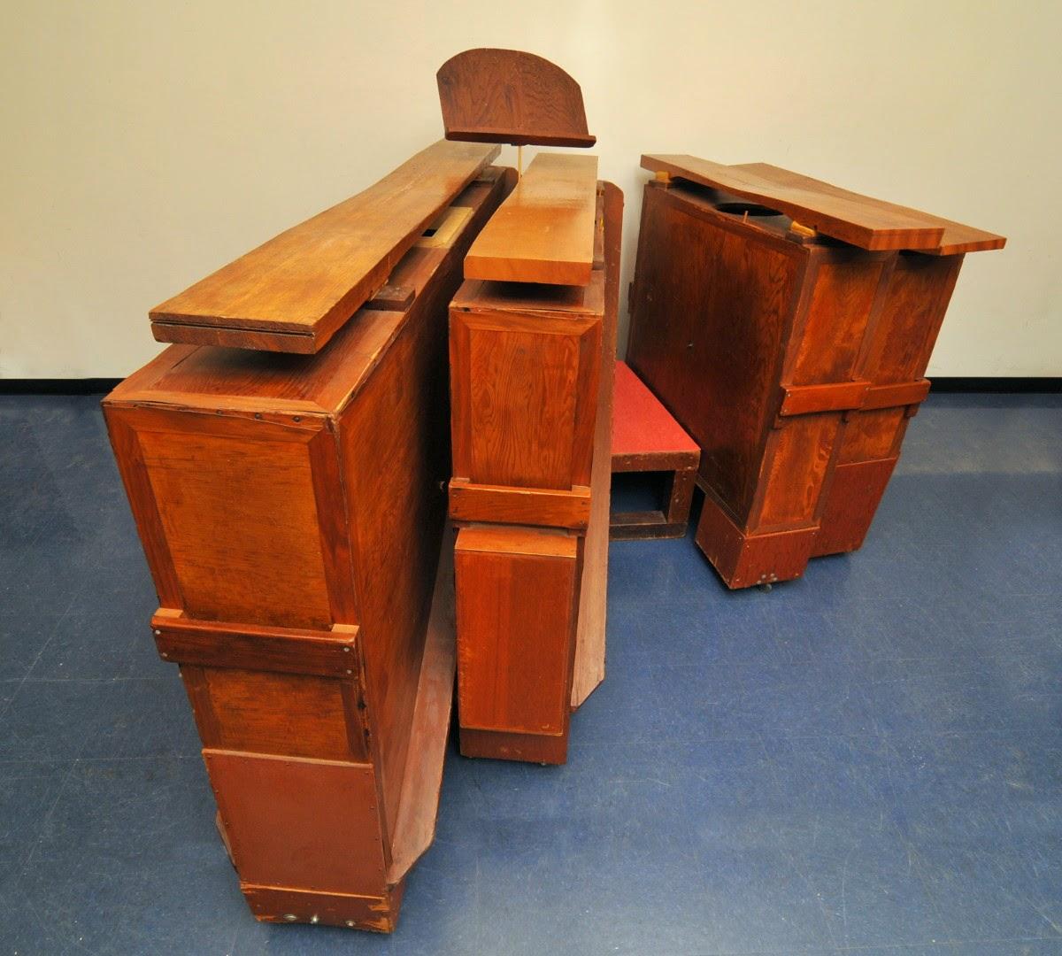 Jede Taste ein Möbelstück: Die »Marimba eroica«