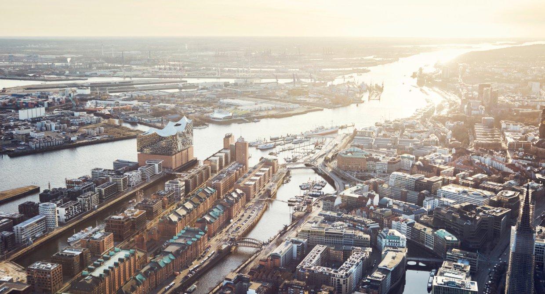 Panorama/Luftbild Elbphilharmonie