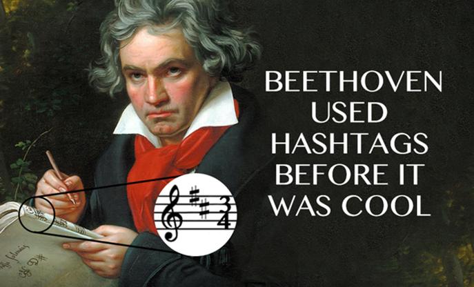Beethoven & Hashtags