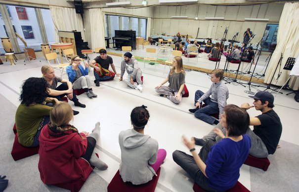 Workshops in den Kaistudios