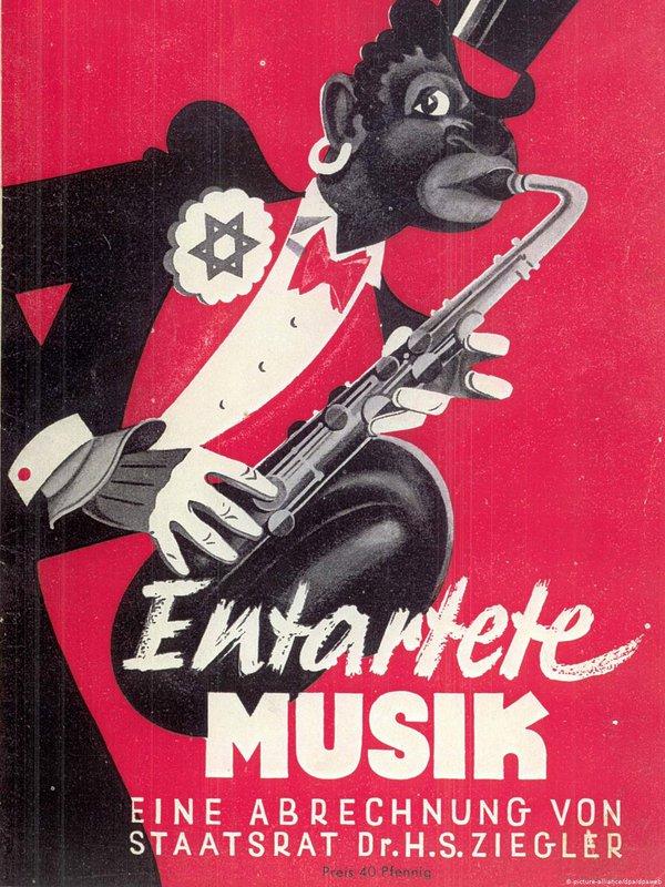 Plakat zur Ausstellung 1938