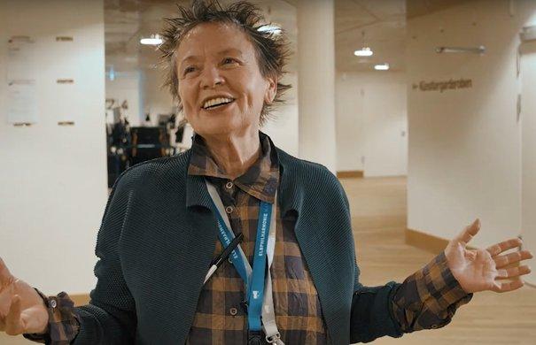 Laurie Anderson in der Elbphilharmonie