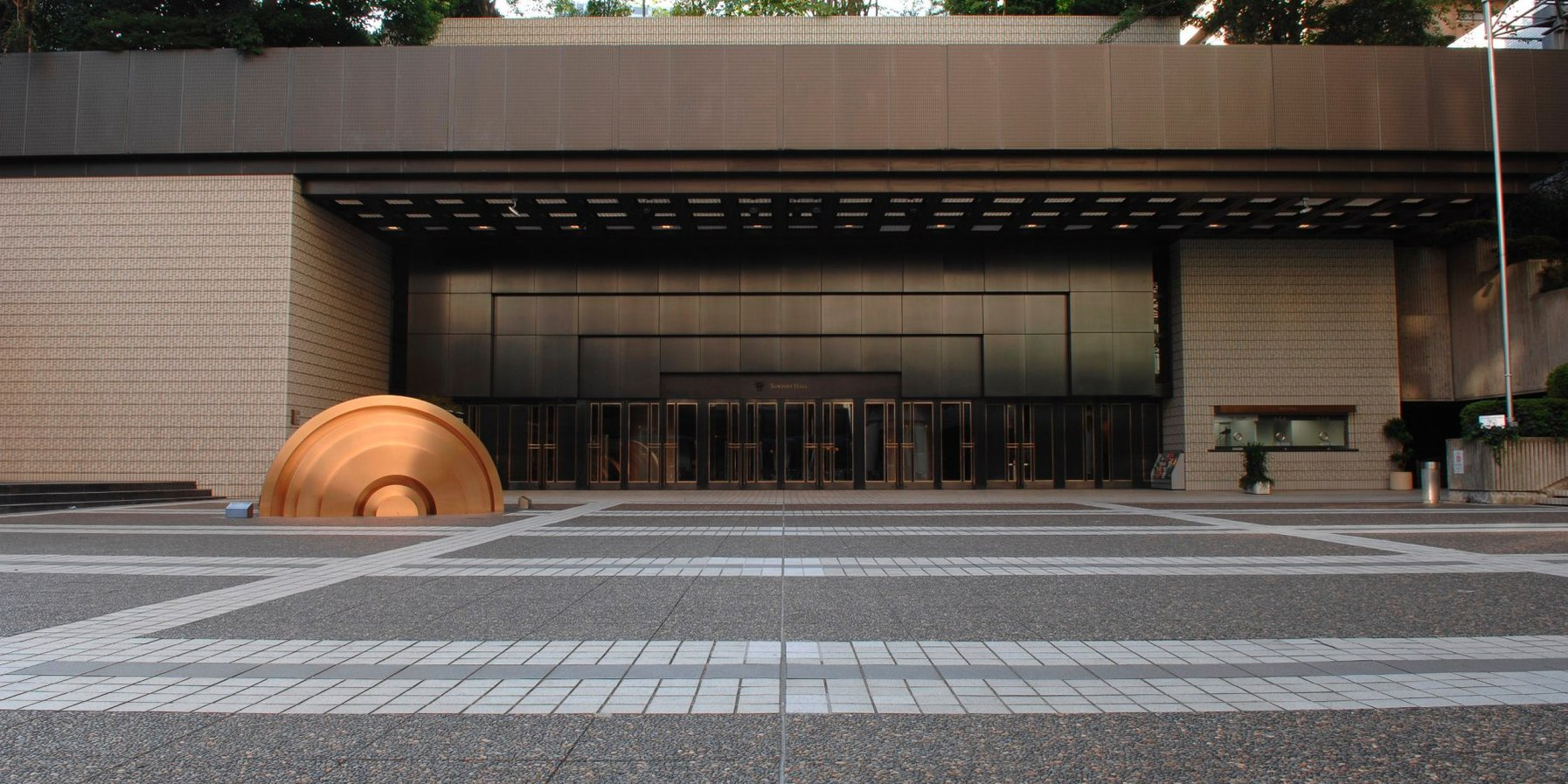 Suntory Hall / Haupteingang