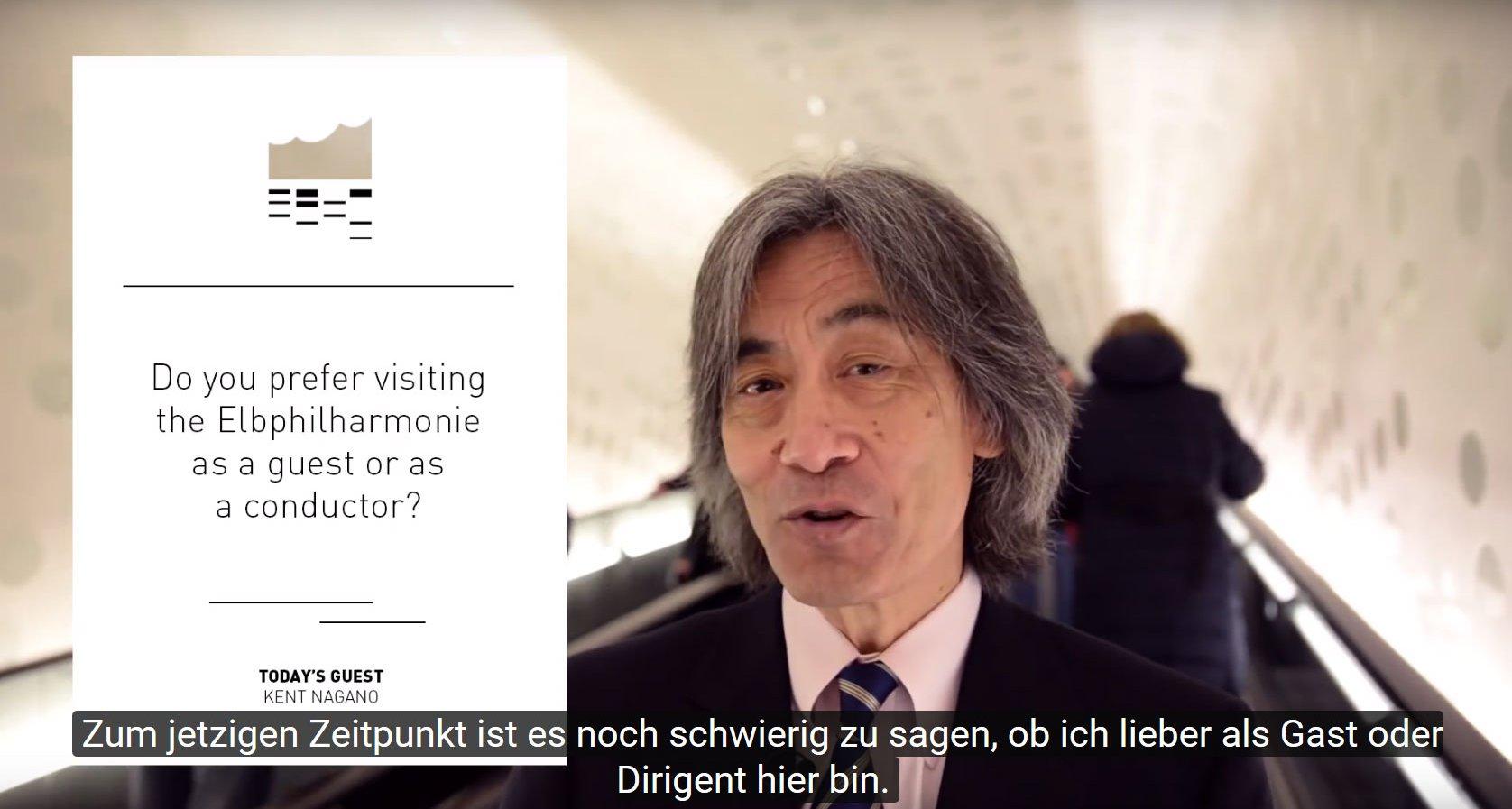 Tube Talk with Kent Nagano