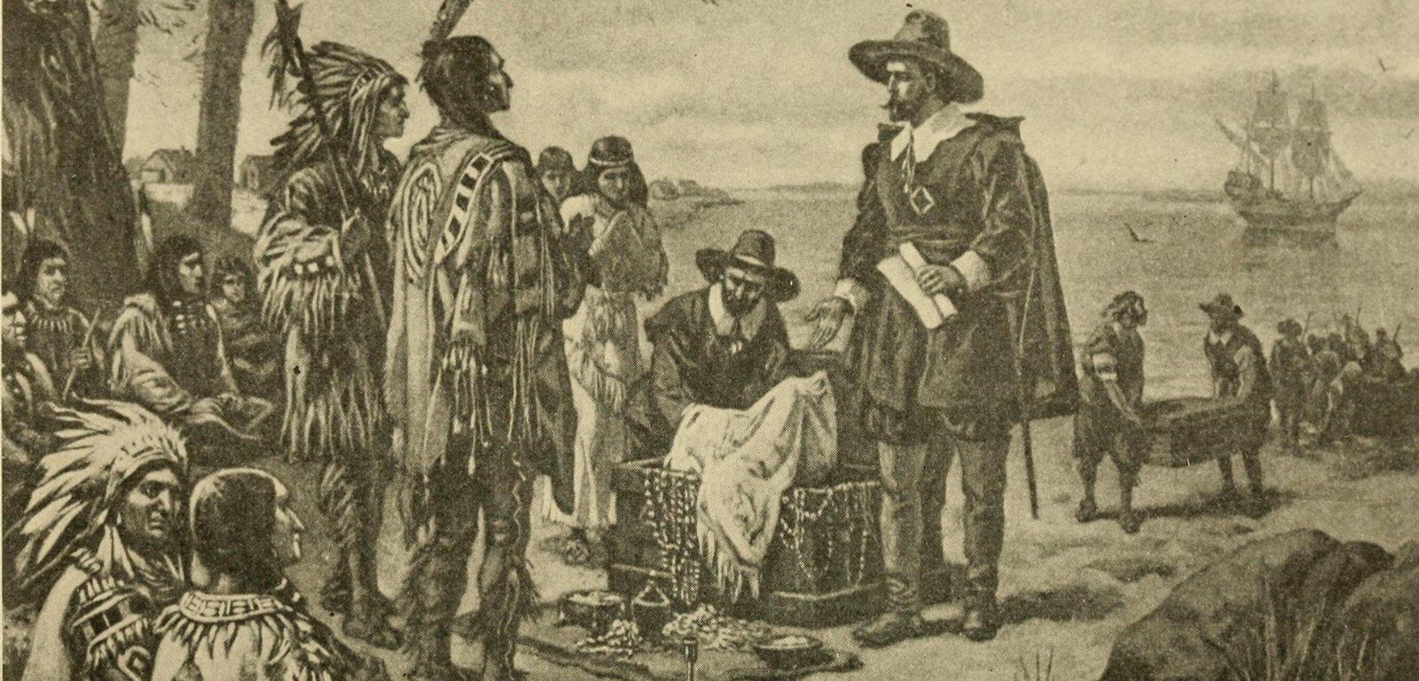Die ersten Einwanderer in der Neuen Welt, 1914