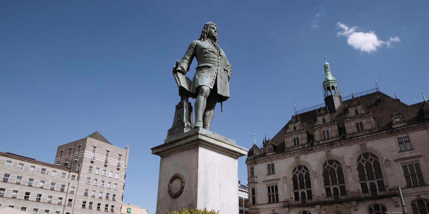 Händel-Statue