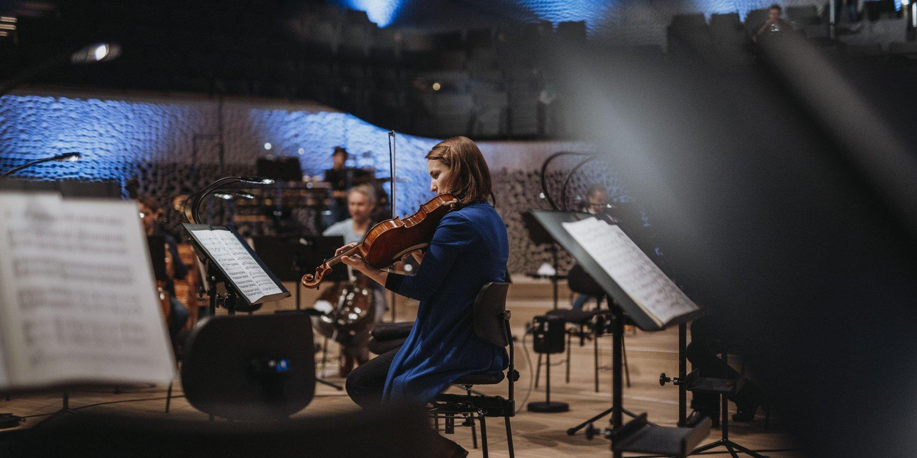 NDR Elbphilharmonie Orchester und Alan Gilbert im Großen Saal