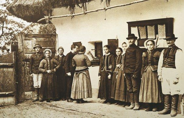 Béla Bartók im Dorf Darázs (1908)