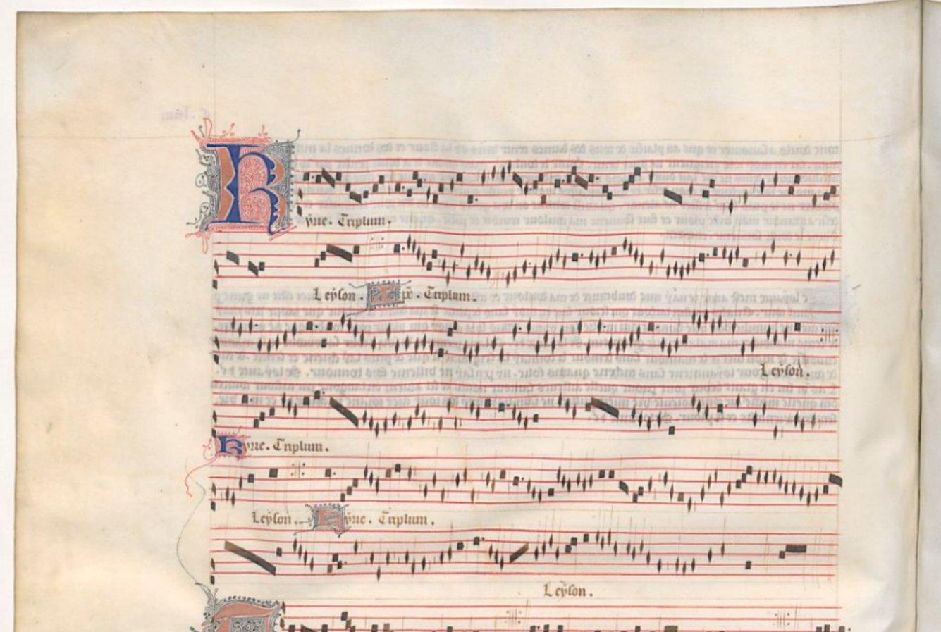 Guillaume de Machaut / Kyrie from »Messe de Nostre Dame«
