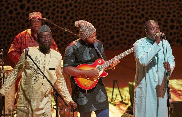 Das Orchestra Baobab aus dem Senegal