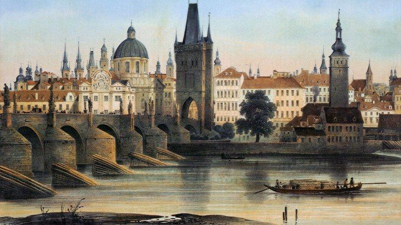 Prag um 1840