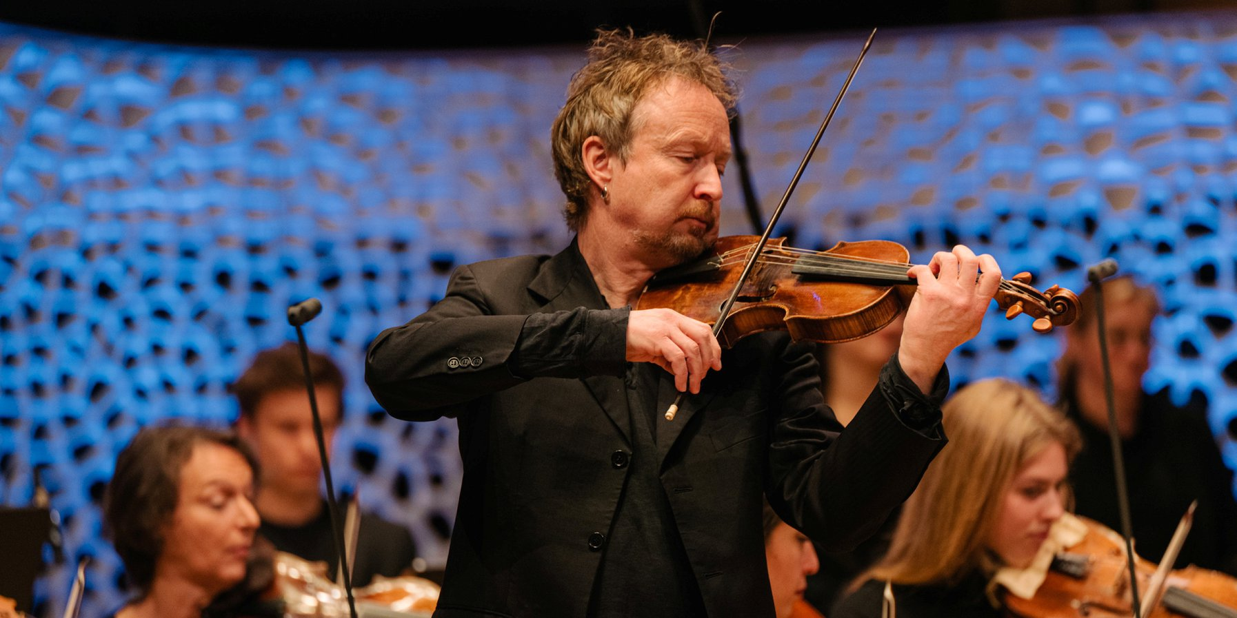 Violinist des Balthasar-Neumann-Ensembles