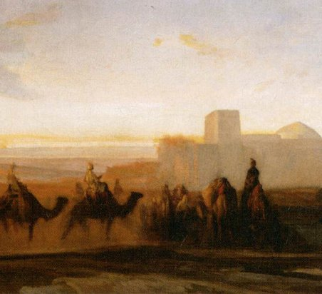 Alexandre-Gabriel Decamps: The Caravan (ca. 1854)