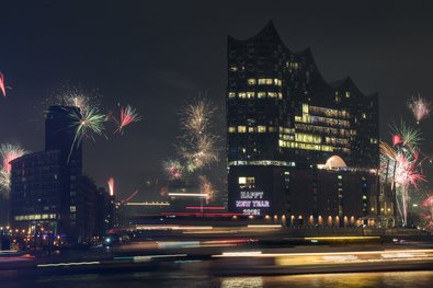 New Year's 2018 at Elbphilharmonie