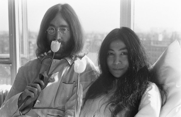 John Lennon und Yoko Ono, Bed-in for peace, Amsterdam