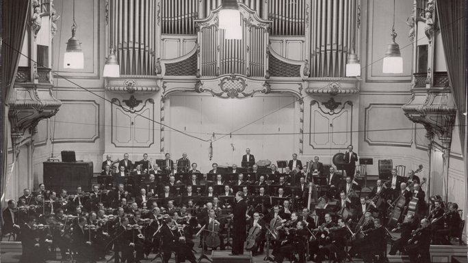 Orchester des Nordwestdeutschen Rundfunks 1947