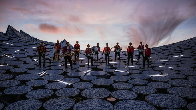 Elbphilharmonie Sessions: Meute auf dem Dach