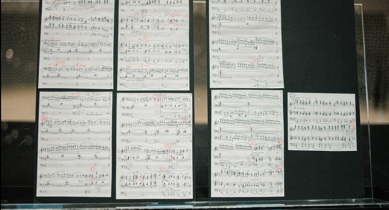 Session Iveta Apkalna / Noten