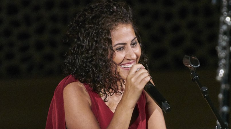 Die kurdische Sängerin Aynur