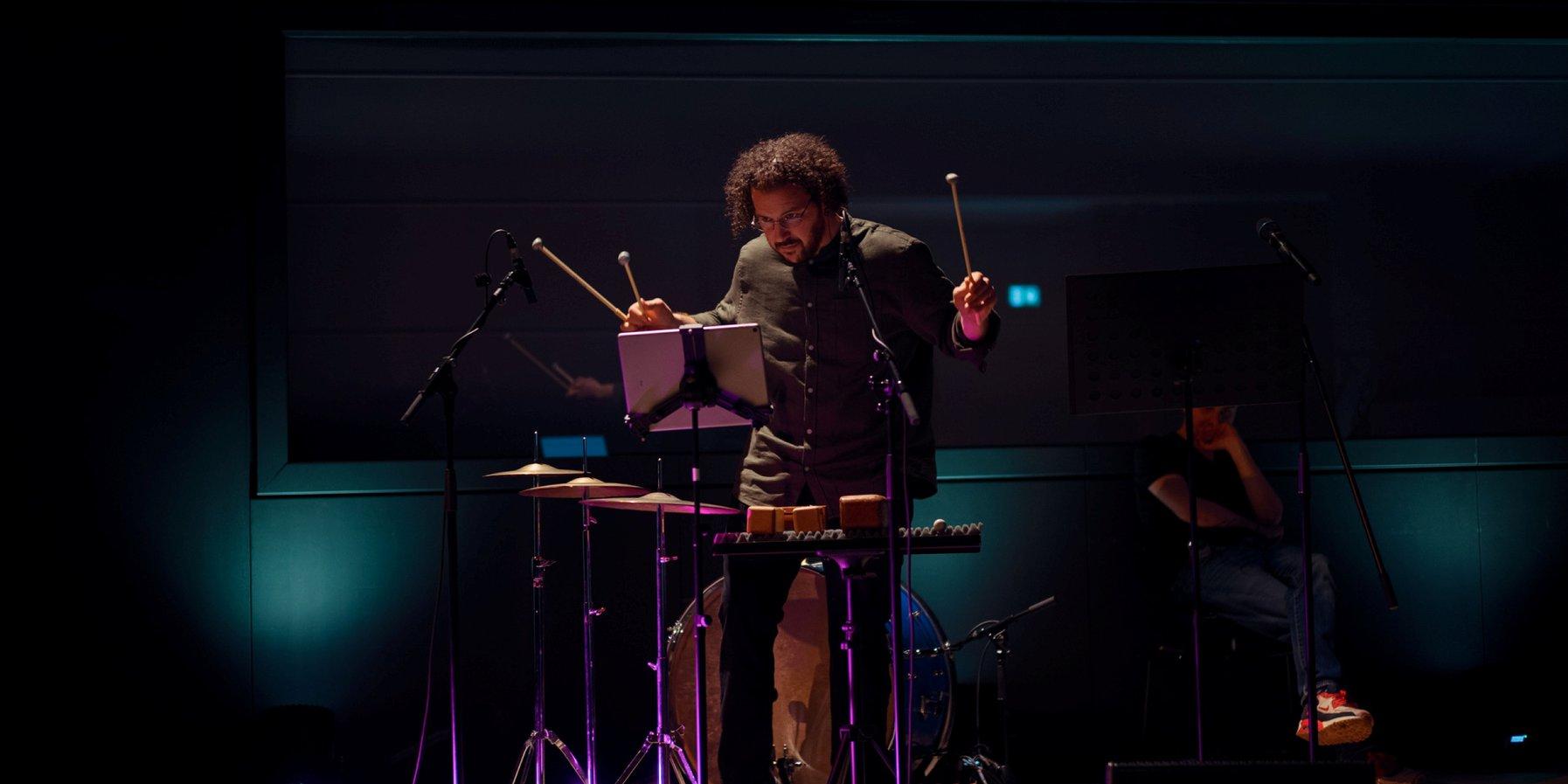 On percussion: Jonathan Shapiro