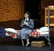 Natalia Pavlova als Anne Frank