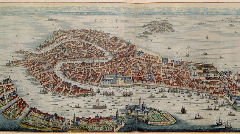 Venice in the 17th century