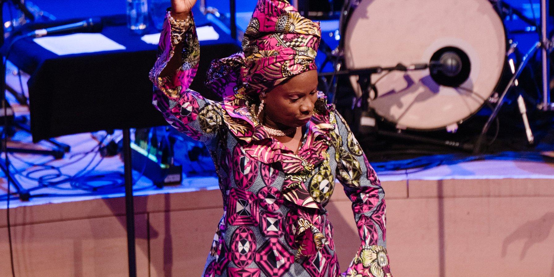 Die beninische Sängerin Angélique Kidjo (8. Dezember 2018)
