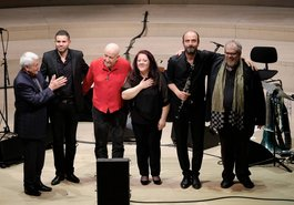 Jivan Gasparyan / Jasser Haj Yousseff / Manfred Leuchter / Dima Orsho / Kinan Azmeh / Michel Godard