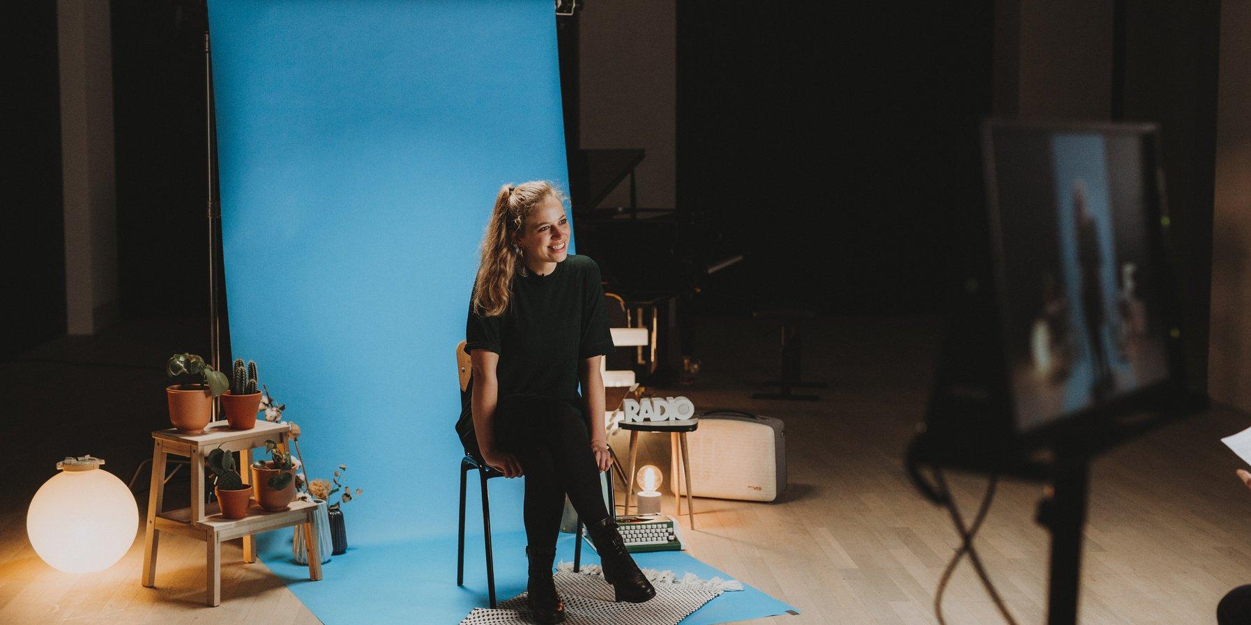 Vanessa Porter / Recording the interview