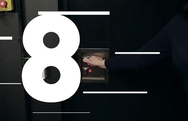 Elbphilharmonie Adventskalender / Tür 8