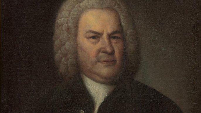 Johann Sebastian Bach: Porträt von Elias Gottlob Hausmann, 1746.