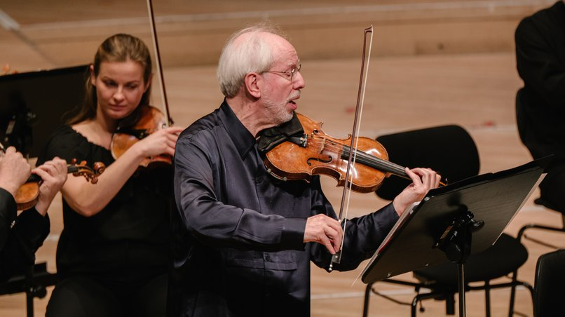 Gidon Kremer in the Grand Hall