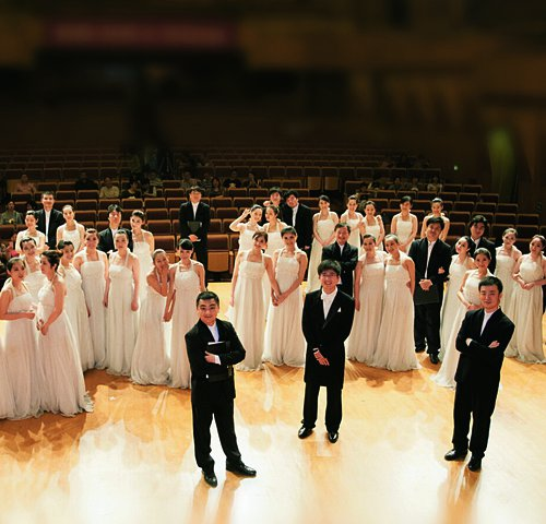 Chorensemble der Jiangsu Performing Arts Group