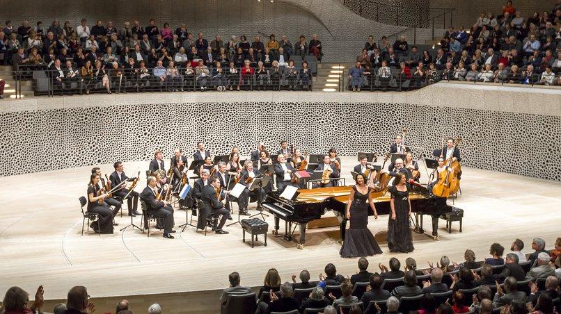 Georgisches Kammerorchester, Khatia und Gvantsa Buniatishvili