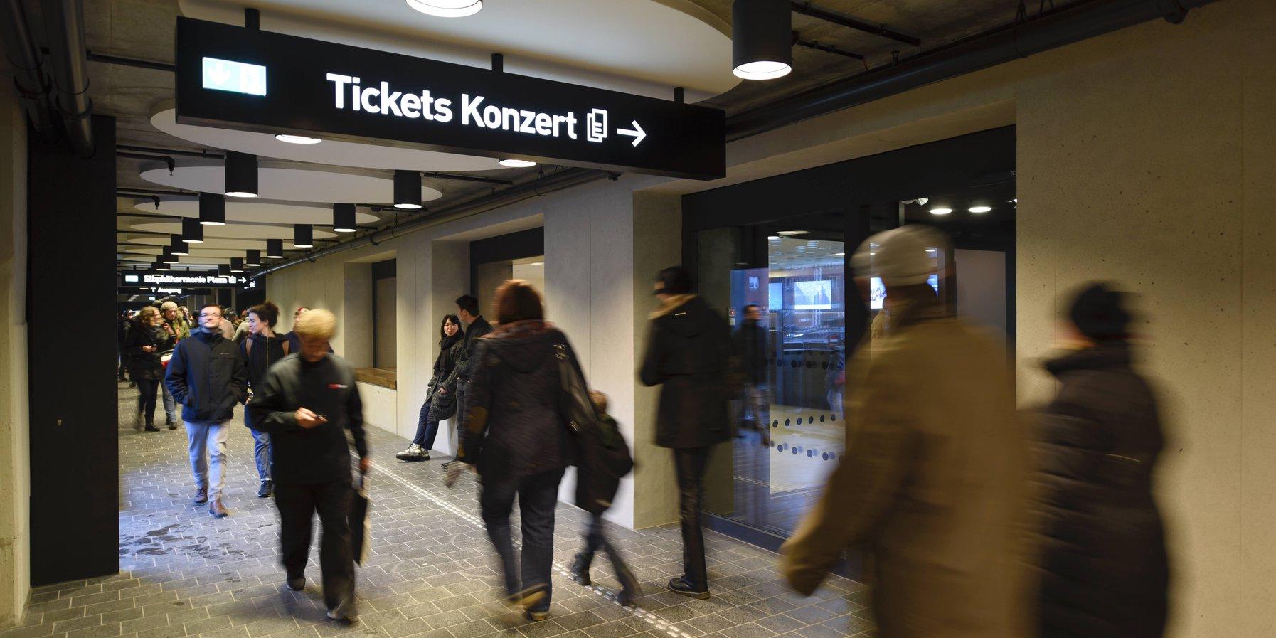 Elbphilharmonie Ticket Shop