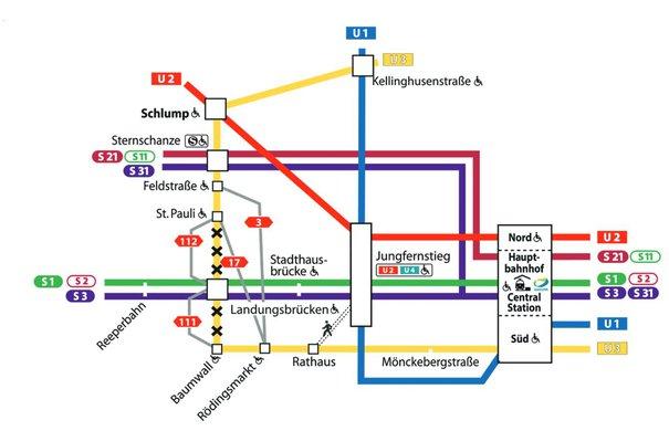 Hvv Karte Verloren.Anfahrt Elbphilharmonie