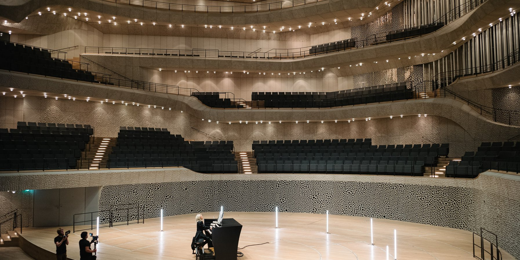Iveta Apkalna / Großer Saal