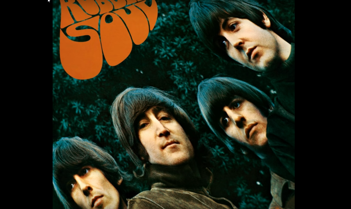 The Beatles: Albumcover »Rubber Soul«