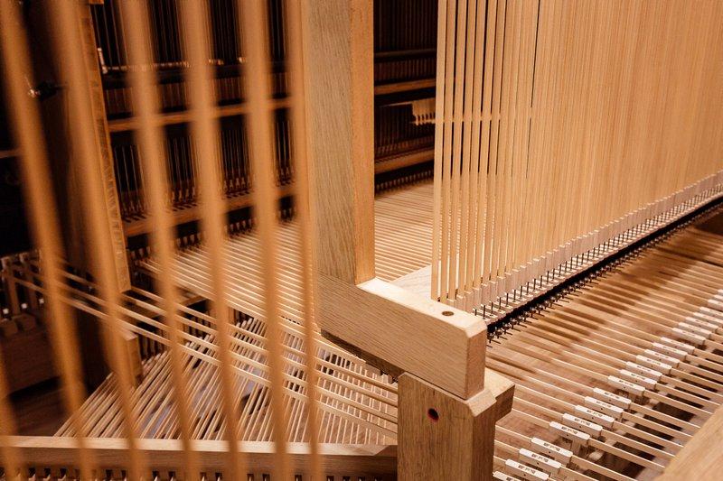 Abstrakte der Elbphilharmonie-Orgel