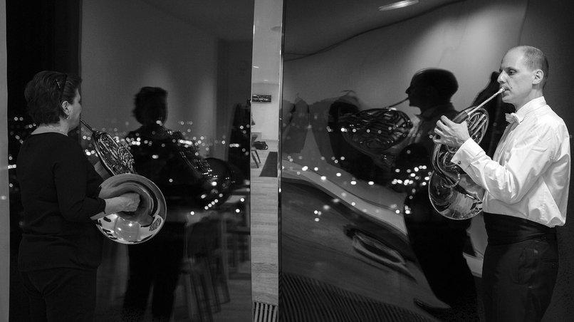 Die Deutsche Kammerphilharmonie Bremen / Backstage
