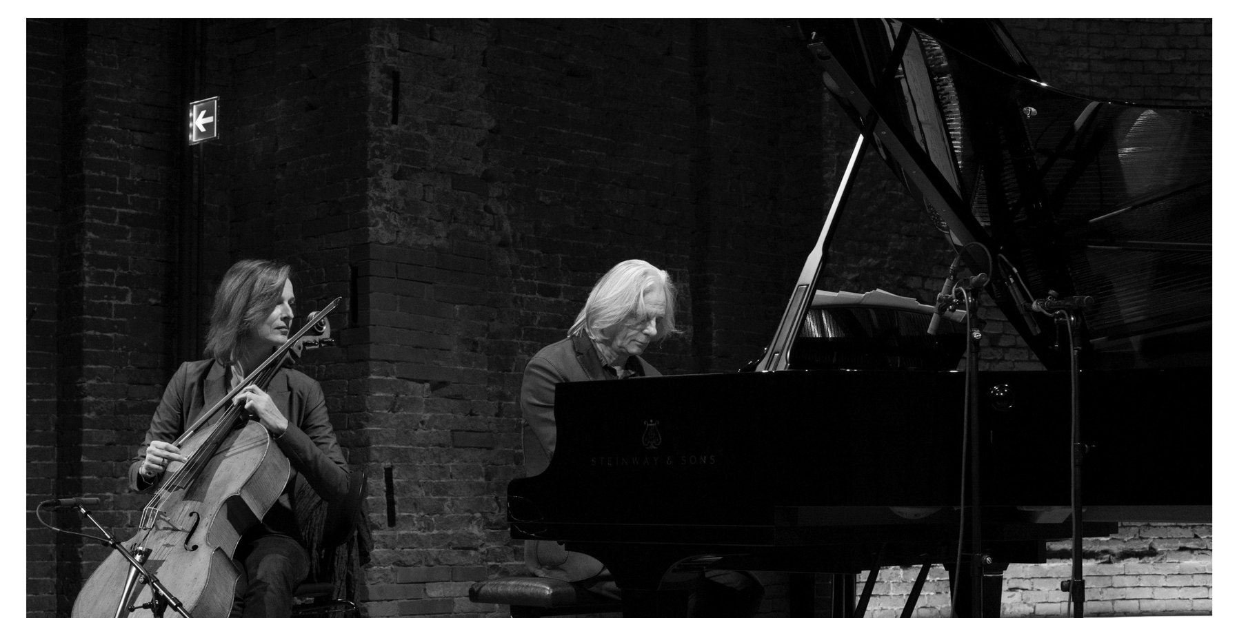 Anja Lechner and Manfred Eicher