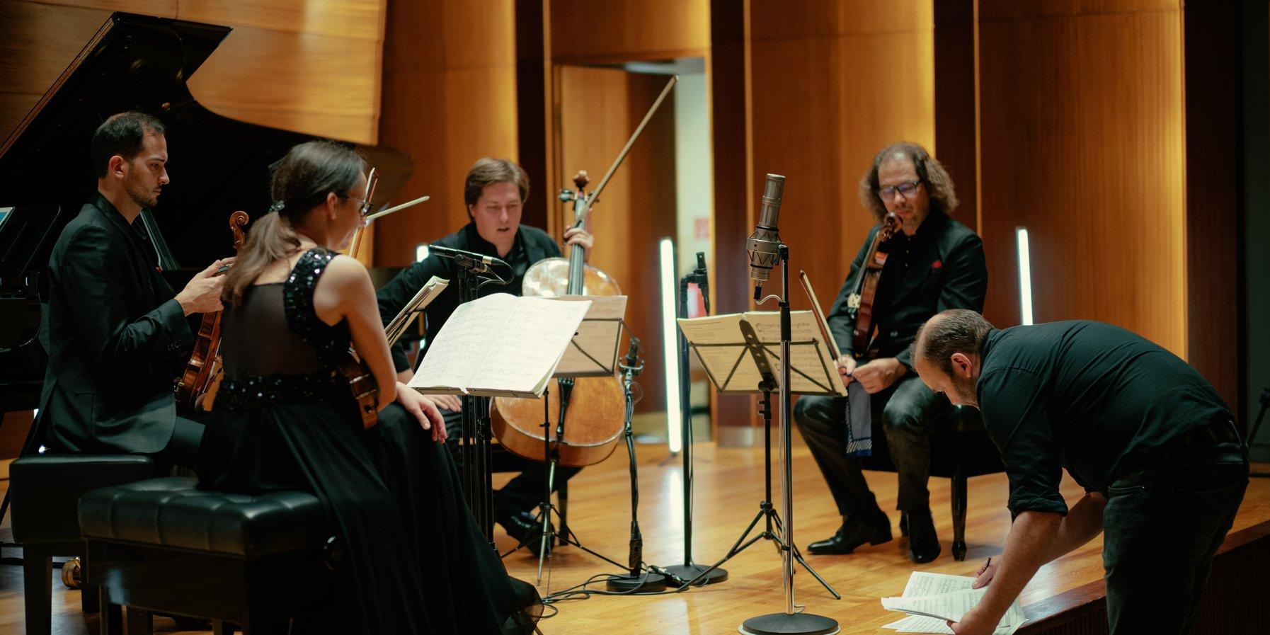 Szymanowski Quartet / Elbphilharmonie Sessions