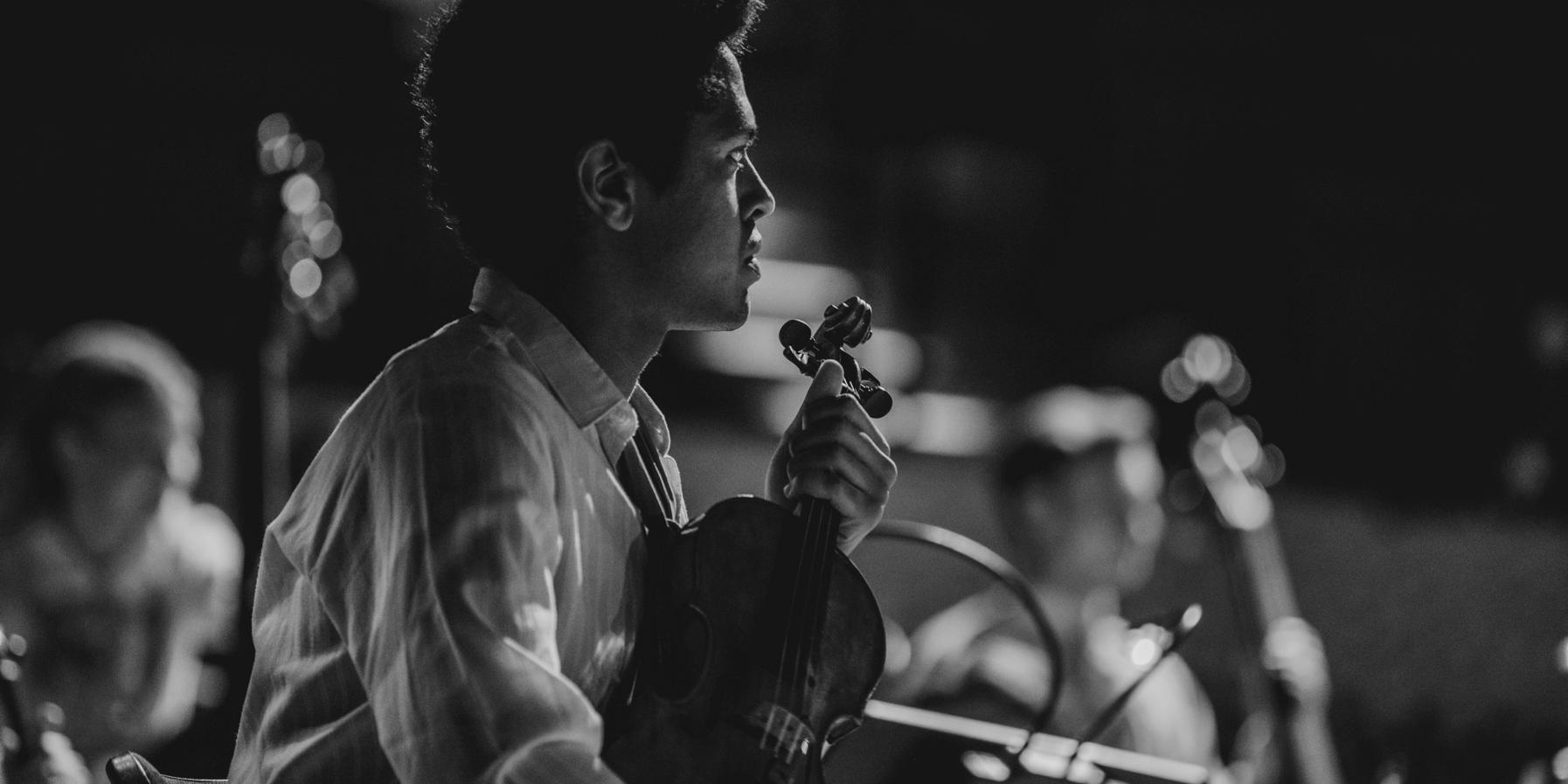 Musician from the Junge Norddeutsche Philharmonie