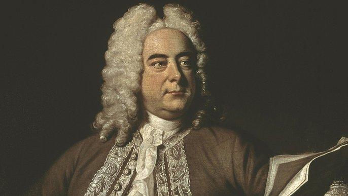 Georg Friedrich Händel 1741 (Porträt von Thomas Hudson)
